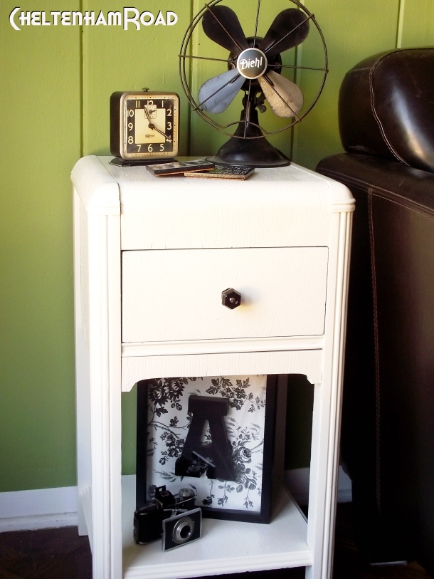Thrift Store End Table Makeover by Cheltenham Road