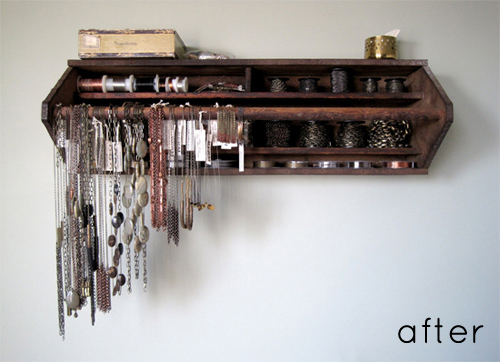 Wall Organizer via Design Sponge