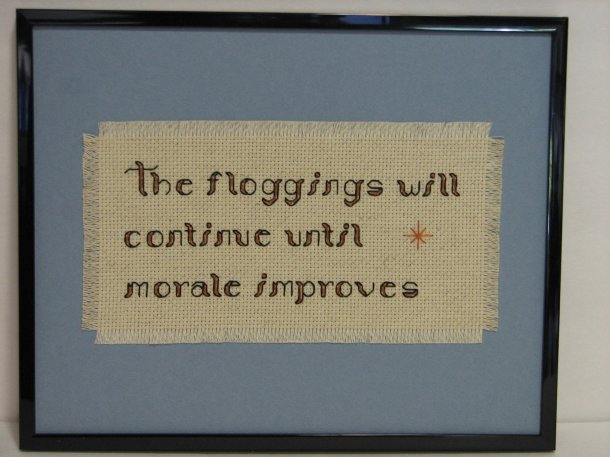 Floggings will continue
