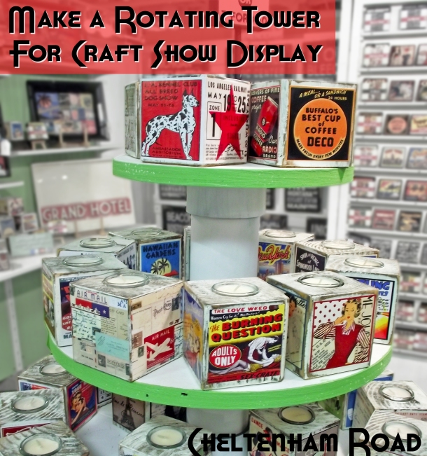 Make a Rotating Display for Craft Shows