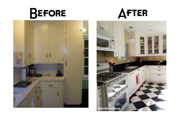 Cheltenham Road Kitchen Before and After