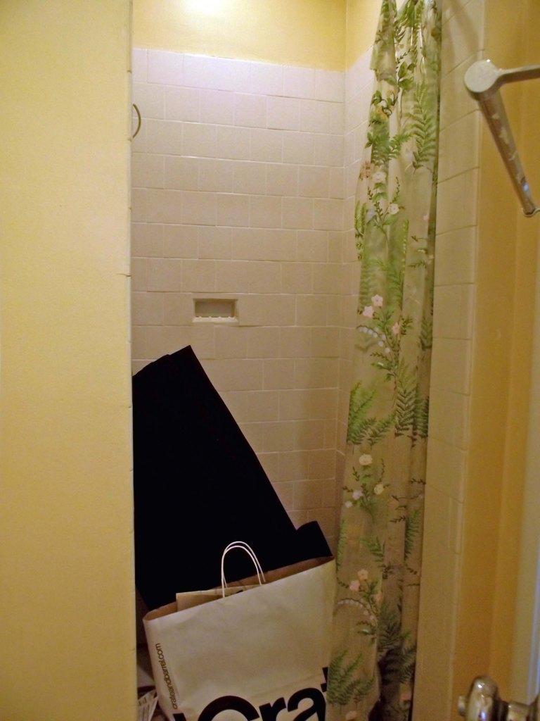 Stunning Tile Job - Worlds Dumbest Bathroom