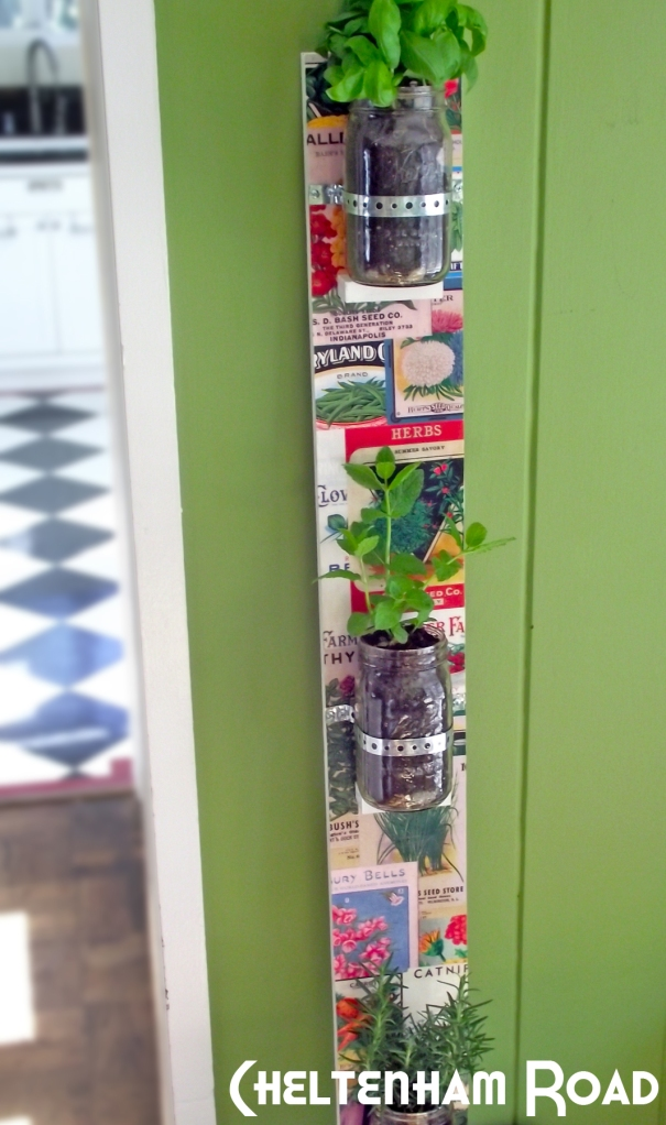 Vertical Mas Jar Herb Garden Cheltenham Road for Mod Podge Rocks