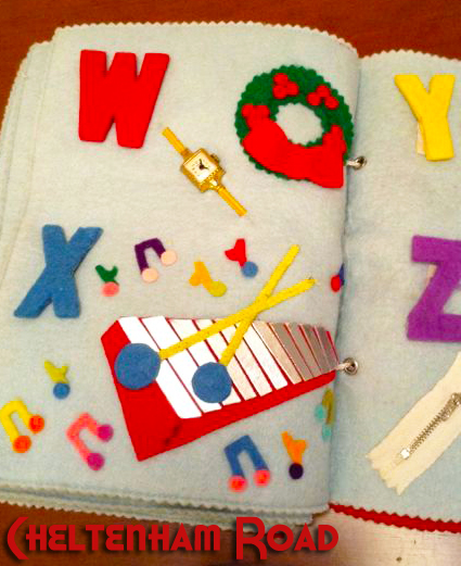 Moms Felt Alphabet Books