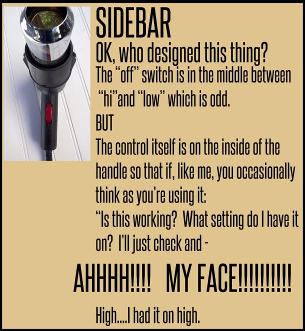 Sidebar Thoughts on a heat gun