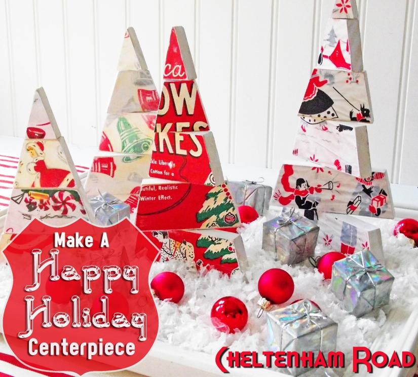 Christmas Tree Tutorial Cheltenham Road for Mod Podge Rocks