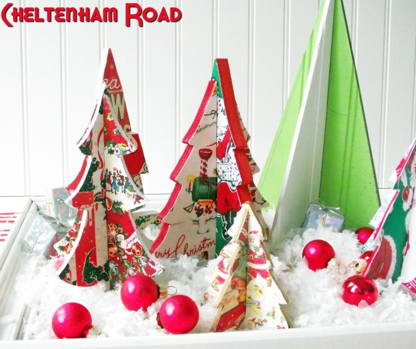 Dimensional Christmas Tree Centerpiece Cheltenham Road