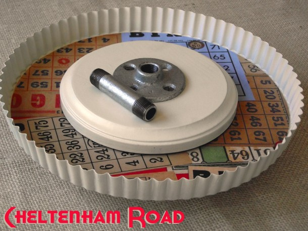 DIY Cake Stand Tutorial by Cheltenham Road