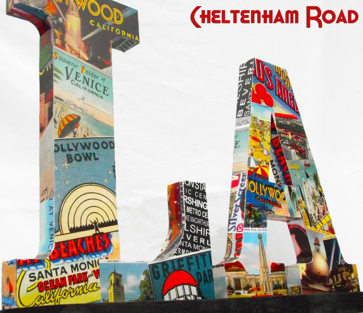 Vintage Los Angeles Cheltenhamroad - Los angeles posters vintage