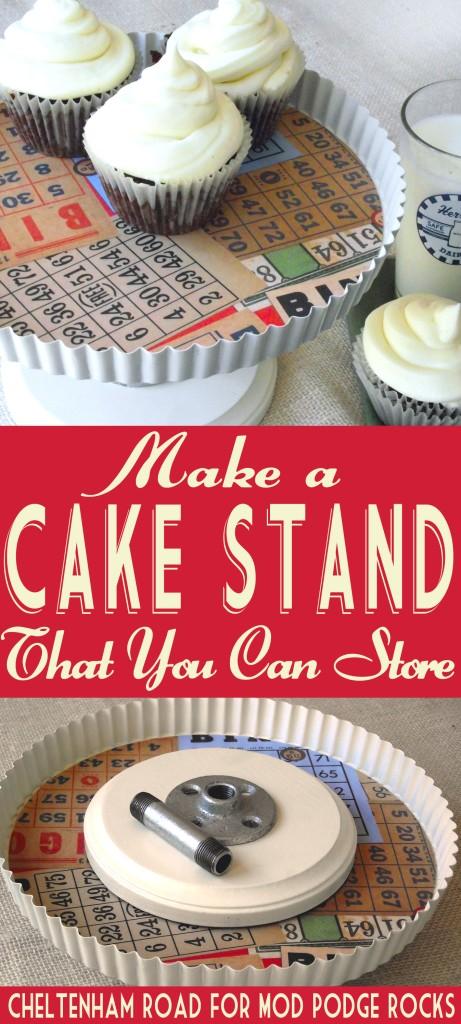 DIY Cake Stand Cheltenham Road