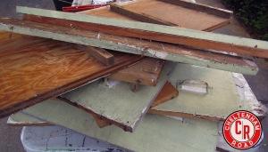 scrapwood pile