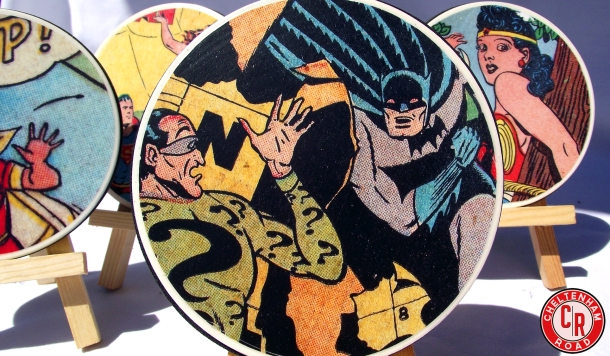 Superhero Coasters a DIY Tutorial Cheltenham Road