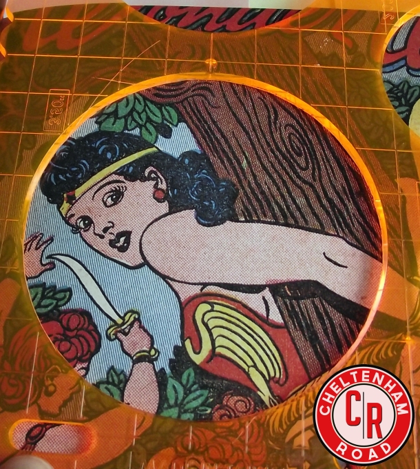 Comic Book Coaster Set Cheltenham Road Tutorial