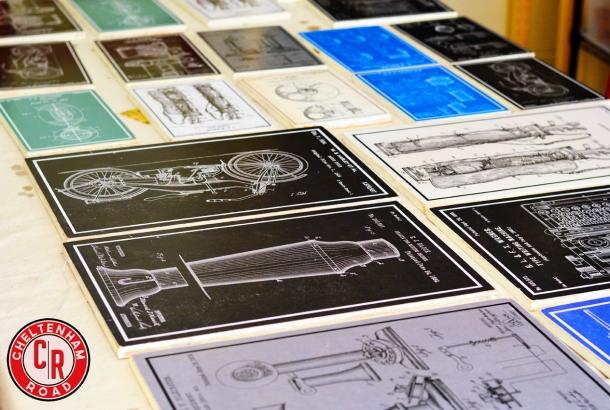 Vintage Patent Prints Cheltenham Road