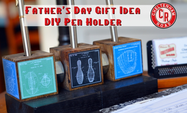 Simple Father's Day Project Tutorial Cheltenham Road