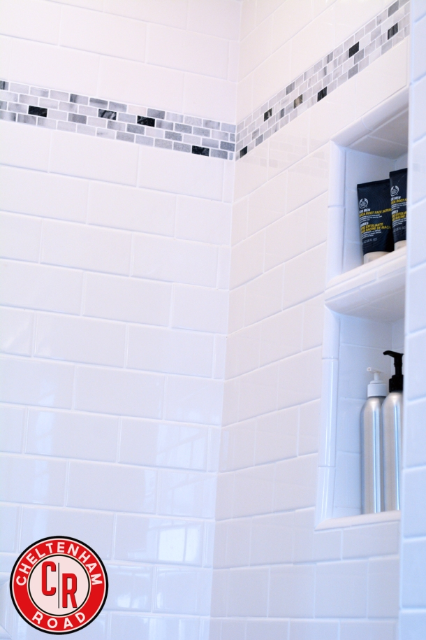 Shower Niches save space