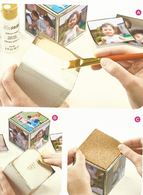 Tutorial for photo cube