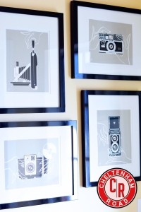 vintage camera print gallery wal Cheltenham Roadl