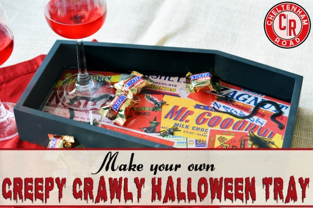 DIY Creepy Crawly Hallween Tray Tutorial