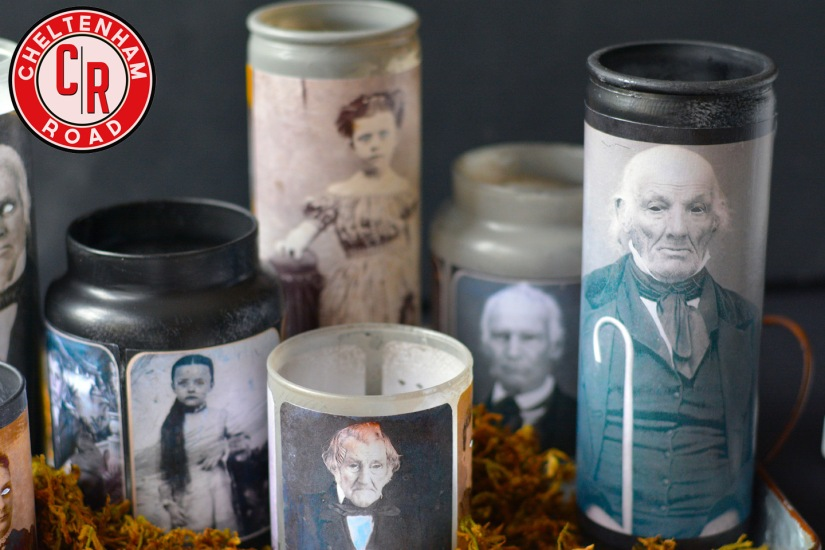 Haunted Halloween Candle Holders by Cheltenham Road