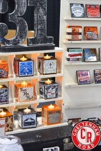 Halloween Candle Blocks by Cheltenham Road