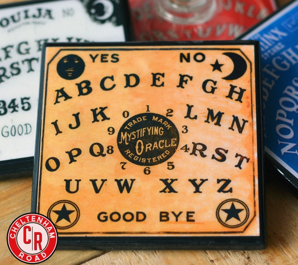 Classic Ouija Board Coaster Set by Cheltenham Road