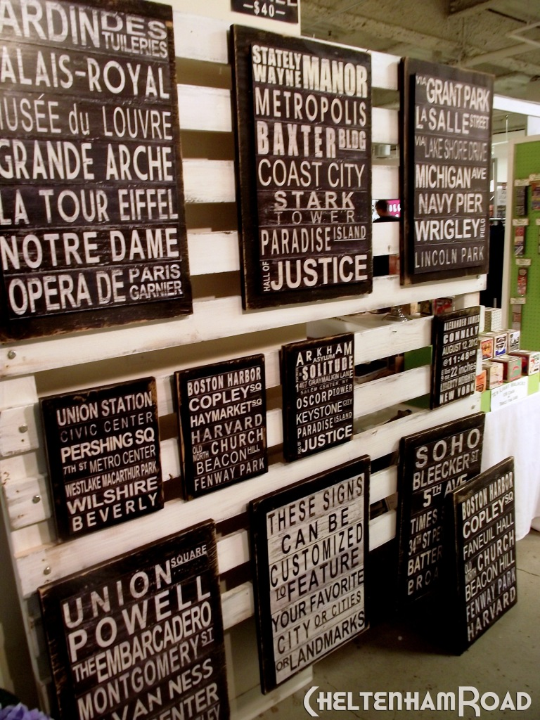 Easy To Build Wall Display for Unique LA Handmade Show