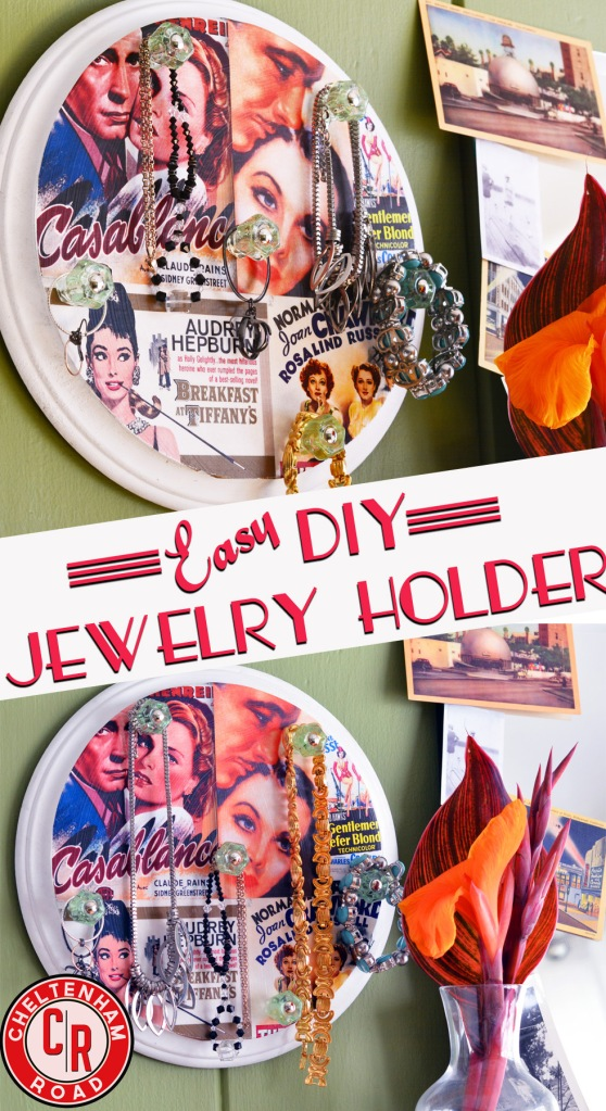 Mod Podge Jewelry Holder tutorial