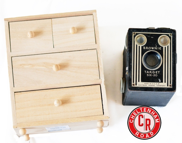Vintage Camera Dresser Project Cheltenham Road