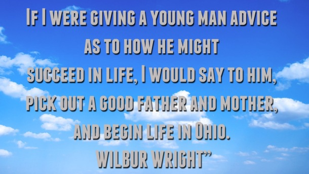 Wilber Wright Quote