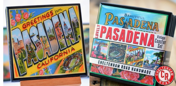 Pasadena CA Coaster set by Cheltenham Road