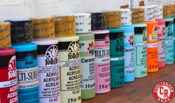 Folk Art Paints by Plaid