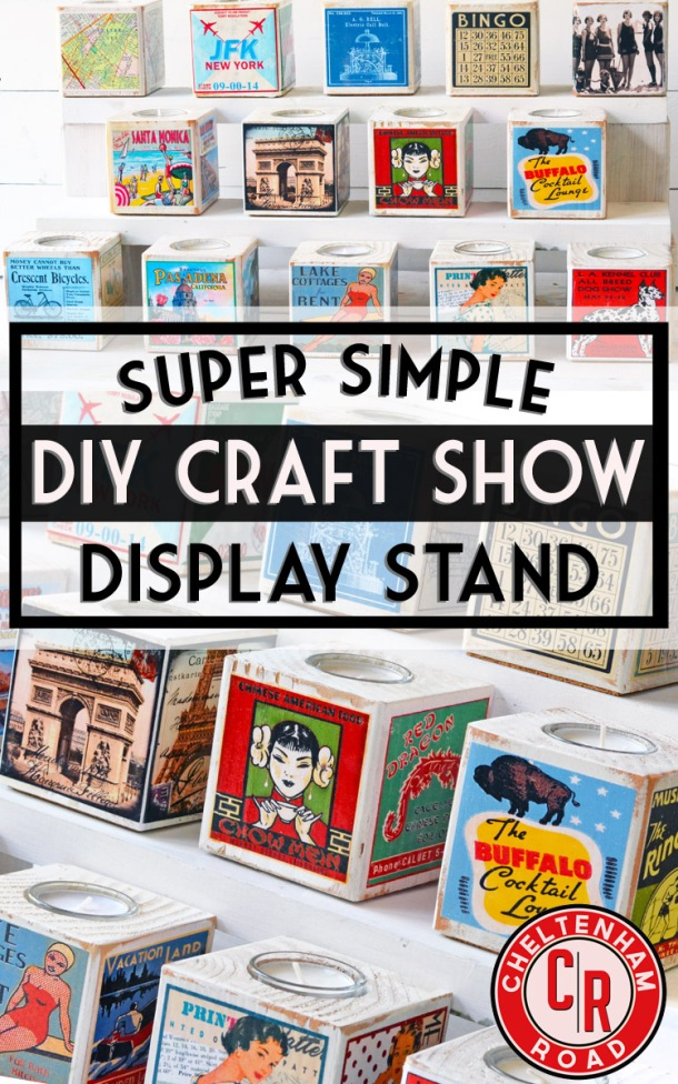 Simple Craft Show Display