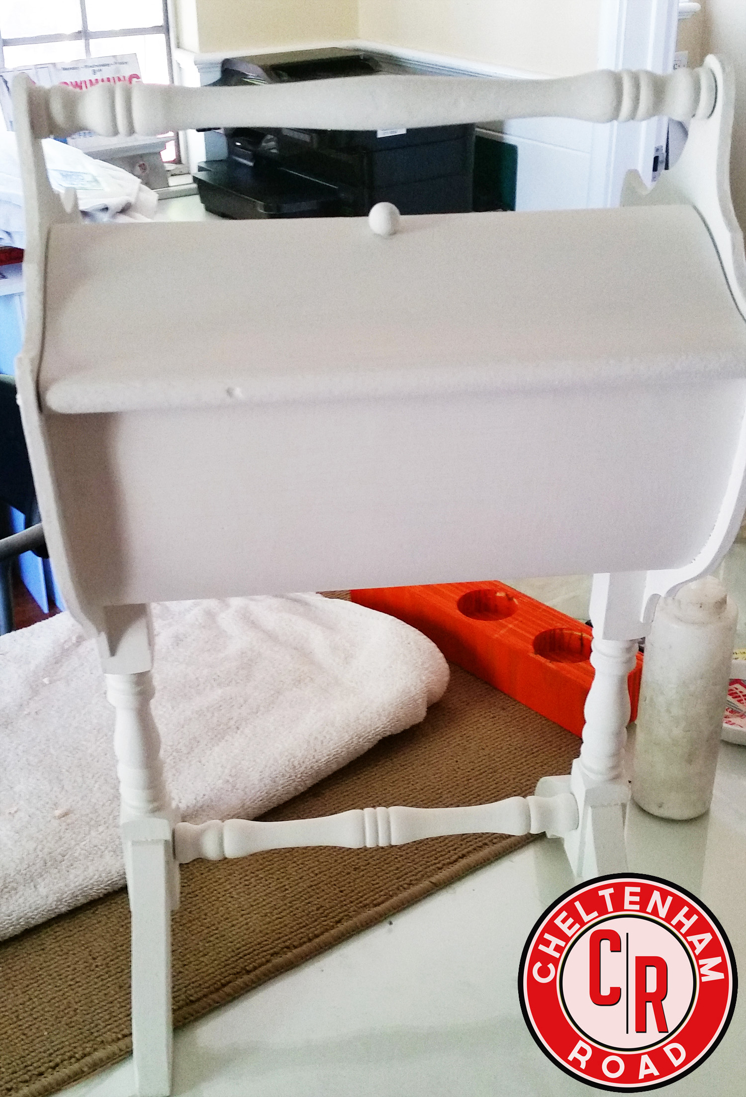 Folk Art Milk Paint Furniture Makeover By Cheltenham Road