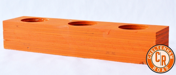 Classic Halloween Wooden Candle Holder by Cheltenham Road
