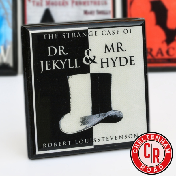 Horror Novel Coaster Set Jekyll and Hyde by Cheltenham Road