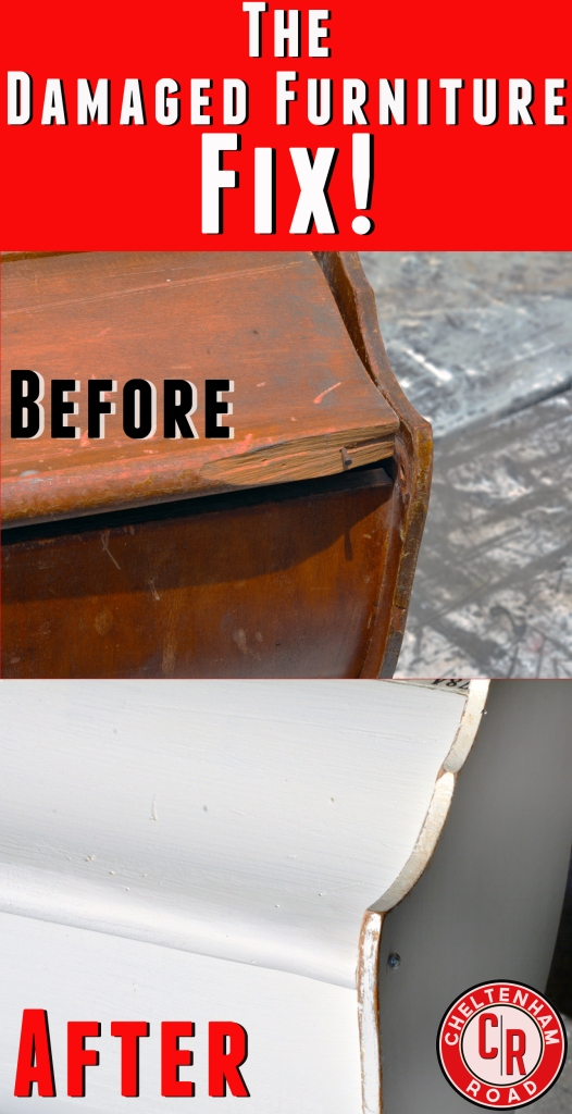 Fix Damaged Furniture with Bondo