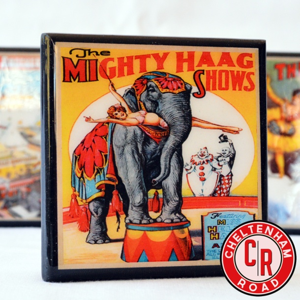 circus-posters-coasters-by-cheltenham-road