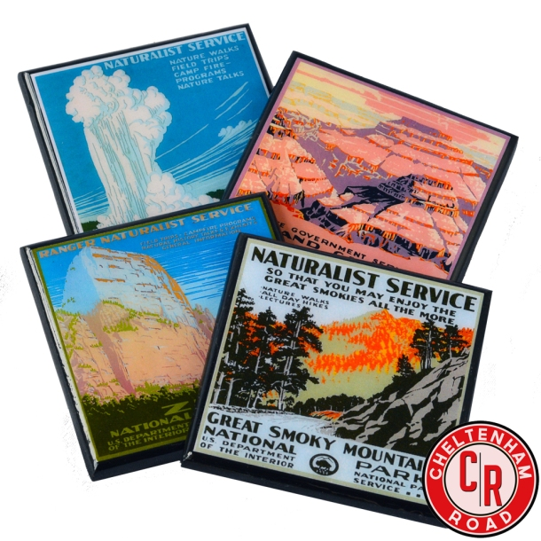 national-park-coaster-set