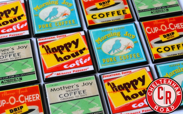 vintage-coffee-label-coasters-by-cheltenham-road
