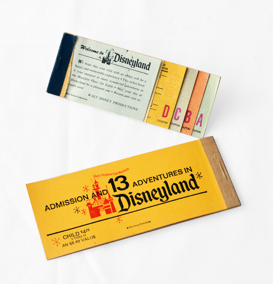 Vintage Disneyland E Ticket Wall Art Tutorial | cheltenhamroad