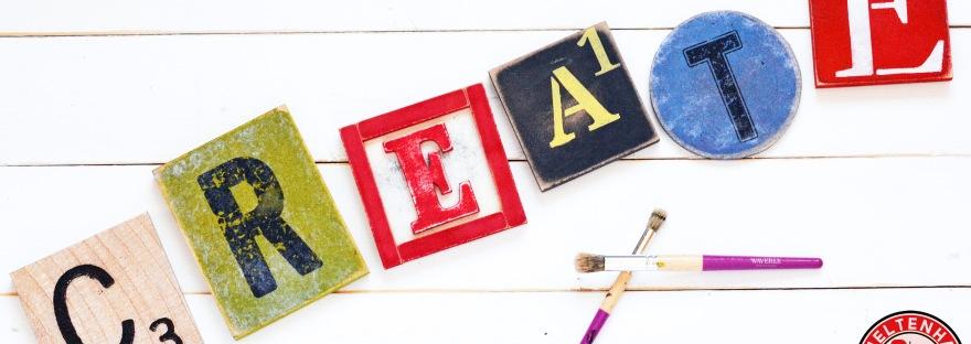 DIY Wood Letter Tiles