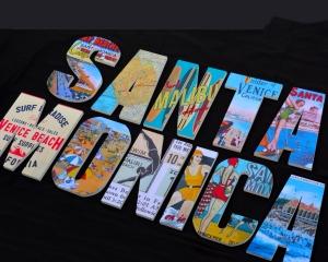 Vintage Santa Monica Sign