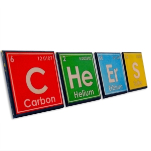 Periodic Table Drink Coaster Set