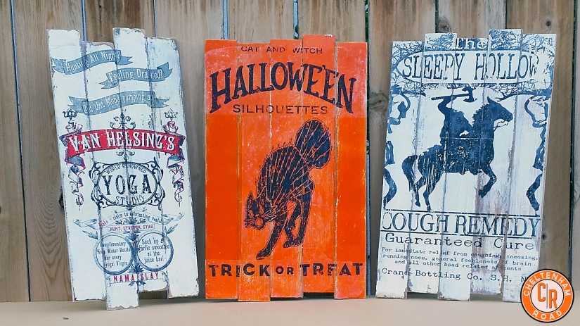 Halloween Signs Original design by Cheltenham Road