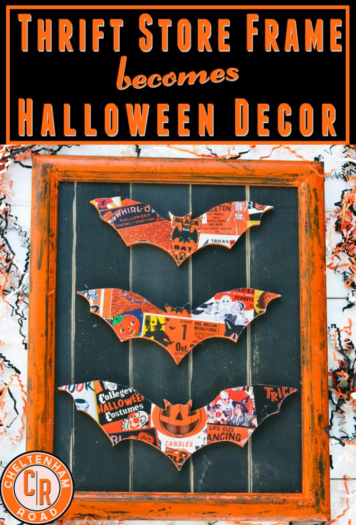 Vintage Halloween DIY Decoration Idea