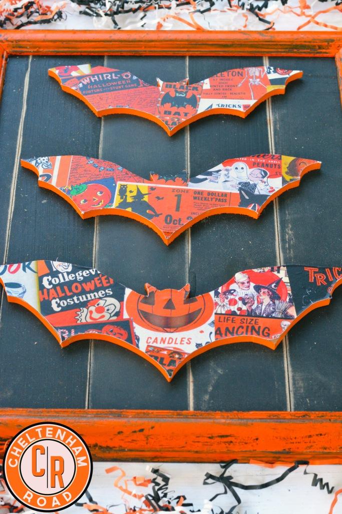 Vintage Halloween Decor Idea