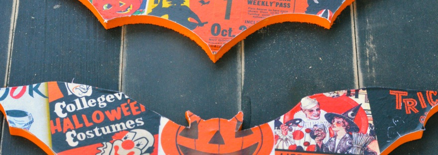 Vintage Halloween Decor Idea